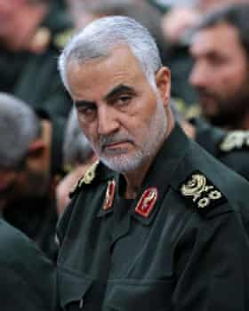 Major General Qassem Suleimani, the leader of the Iranian-backed militias fighting in Syria.