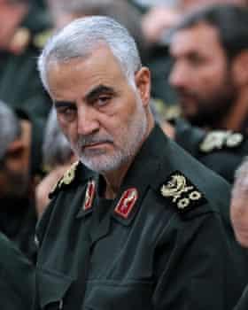 Quds Force commander Qassem Suleimani.