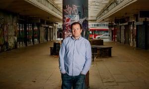 Nick Pettigrew in Croydon.