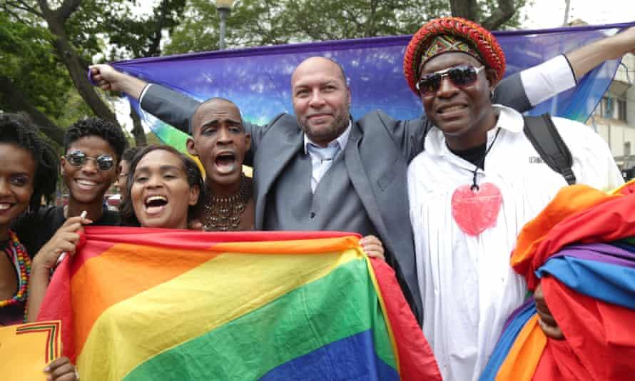 LGBT activists in Trinidad