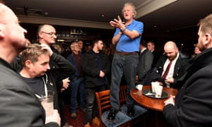 Wetherspoon's Tim Martin sounds off on Brexit's virtues in a Weymouth pub.