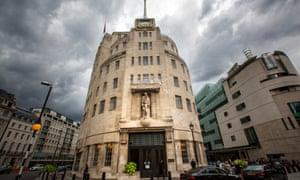 BBC headquarters, broadcasting house exterior