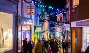 Folkstone's Christmas lights