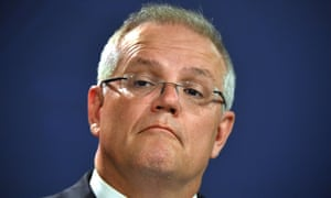 Prime Minister Scott Morrison during a press conference in Sydney, Australia, 02 January 2020.