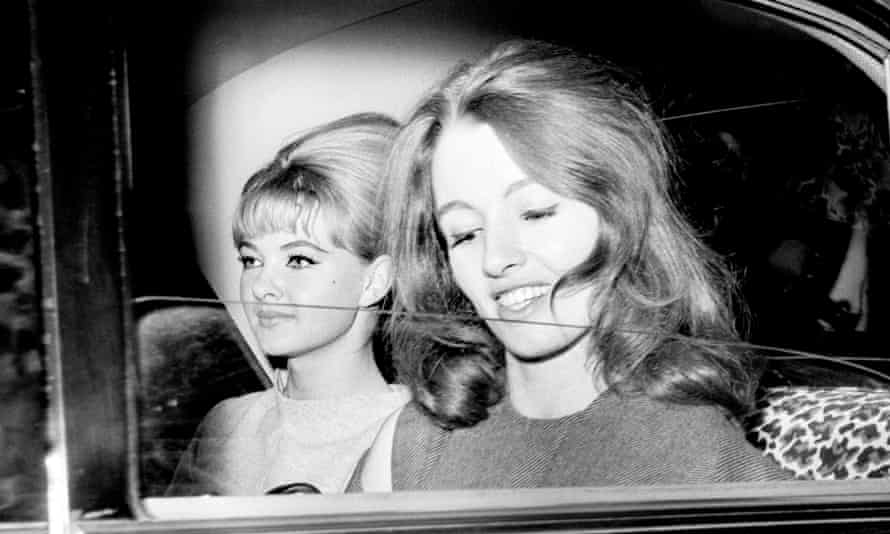 Mandy Rice-Davies and Christine Keeler were key figures in the Profumo affair.