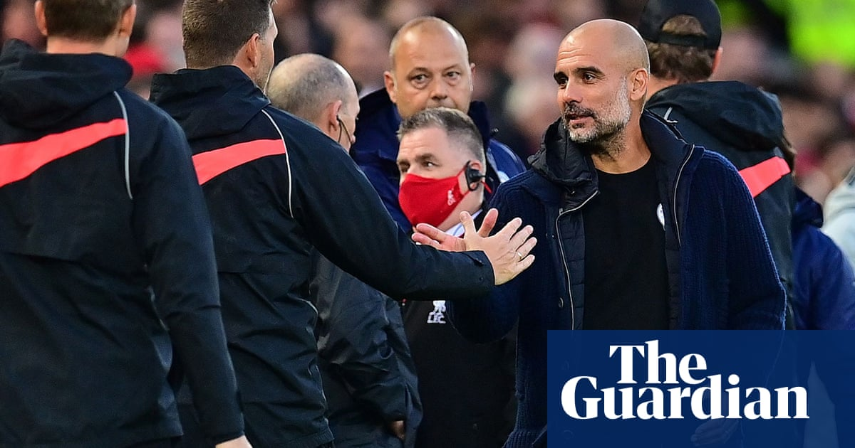 Manchester City provide image of Liverpool fan who allegedly spat at bench