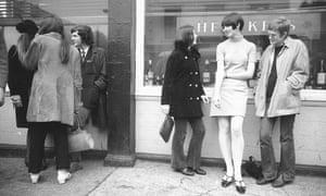 A steet scene in 1966. The influence of the decade of the miniskirt and Mary Quant bob never seems to have faded.