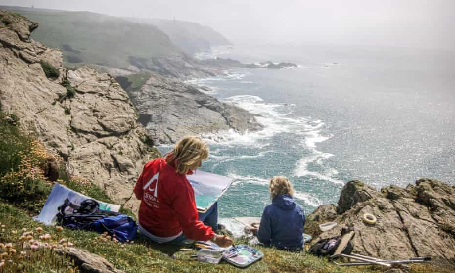 The Newlyn School of Art is hoping to set a world record on the Cornish coast