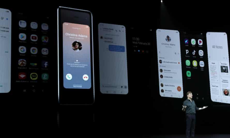 The new Galaxy Fold smartphone
