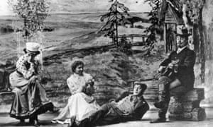 A production of The Cherry Orchard by Konstantin Stanislavski's Moscow Art Theatre.