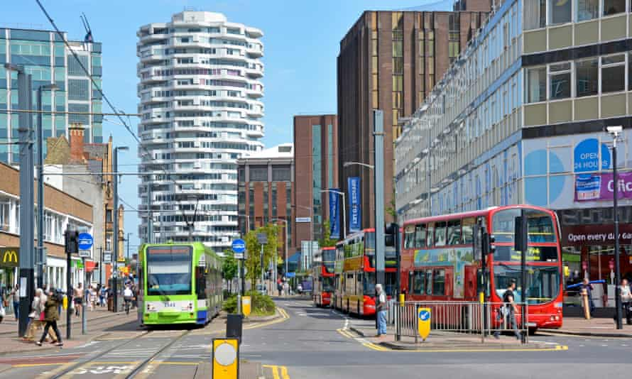 Croydon town centre. Robert Jenrick announced a rapid review of the council's governance.