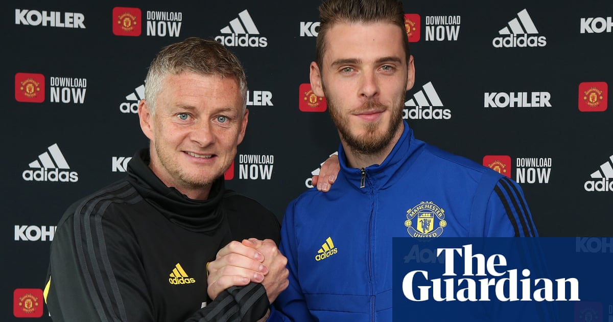 'My future is fixed': David de Gea signs new four-year Manchester United deal