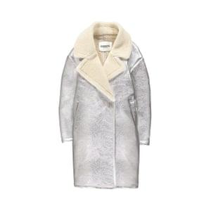 Silver shearling, £370, essentiel-antwerp.com