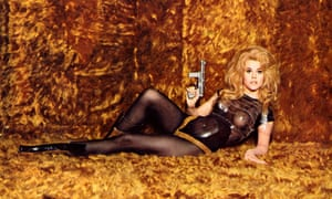 'I took a lot of heat on it from feminists': in the 1968 erotic sci-fi film Barbarella.