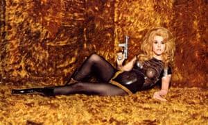 Jane Fonda as Barbarella in 1968.