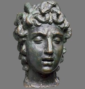 Benvenuto Cellini, The Head of Medusa (about 1545-50)