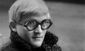 David Hockney in London in 1966