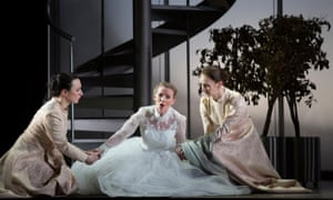 'Dignified and ardent' Sarah Tynan (centre) as Ginevra in Scottish Opera's Ariodante