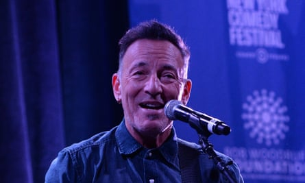'Trump is really quite an embarrassment if you're from the US' … Bruce Springsteen on the US president.