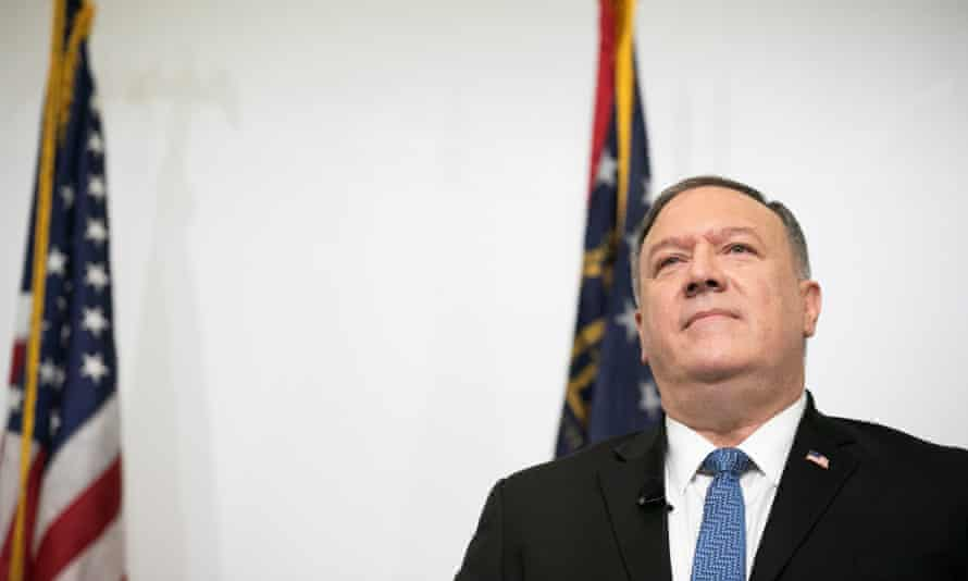 Mike Pompeo made the determination on Tuesday just 24 hours before Joe Biden takes office.