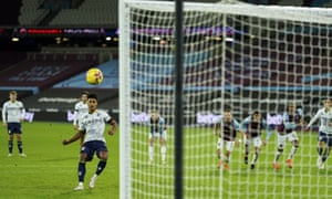 Ollie Watkins' penalty hit the bar as Villa missed the chance to make it 2-2.