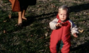 'We have a great sense of family in terms of our children': Francesco Carrozzini as a baby.