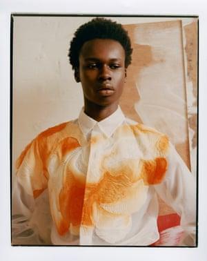 Organza shirt by Dior
