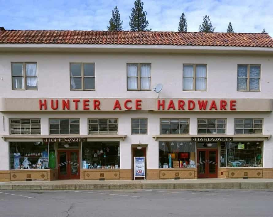 Hunter Ace Hardware Store in Greenville, California.