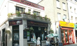 The Forty Fives, a Punch Taverns pub on Mile End Road, London.