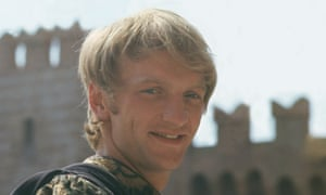 John McEnery as Mercutio in Franco Zeffirelli's 1968 film version of Romeo and Juliet.