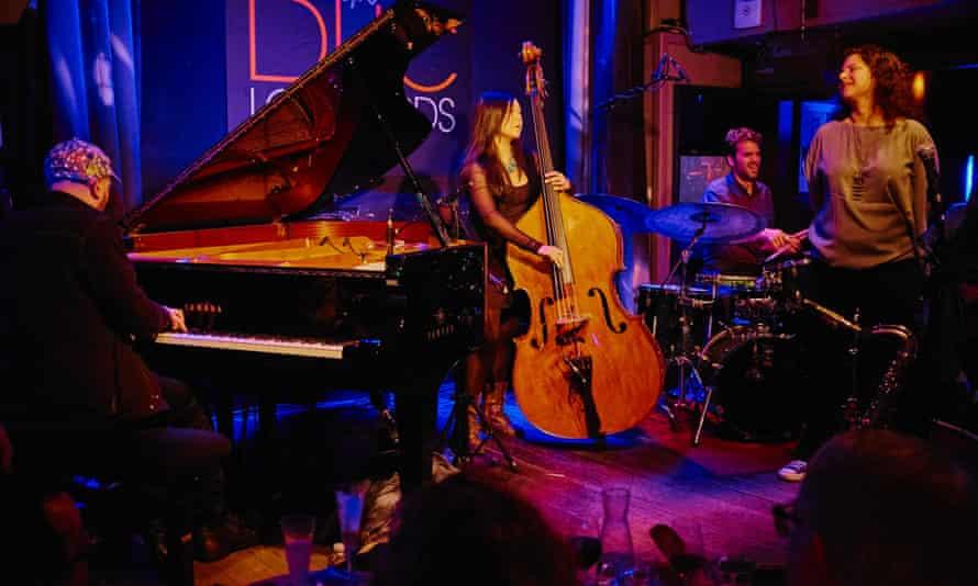 Jazz club Duc des Lombards, Paris,