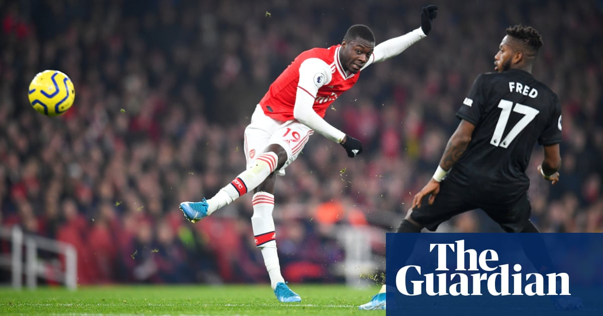 Possessed Arteta coaxes Nicolas Pépé back from the living dead | Barney Ronay