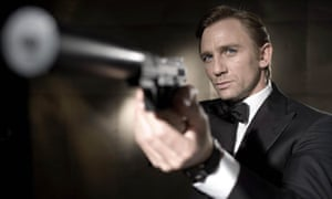 Daniel Craig in a promo image for Casino Royale.