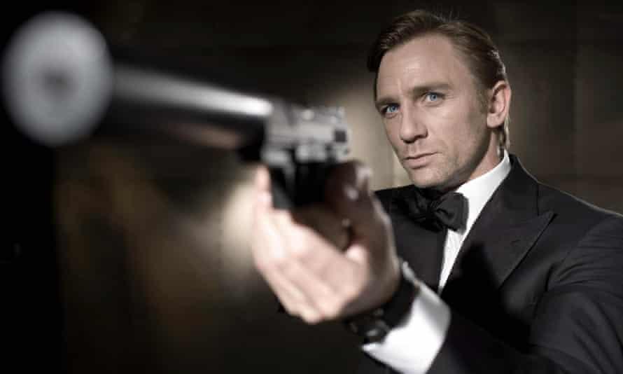 Daniel Craig in a promo image for Casino Royale.