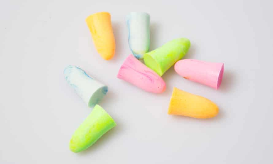 Put a plug in it: 'A lifetime's supply of earplugs, nearly gone.'