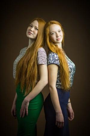 Valeria, 29, and Tatiana Korotaeva, 22