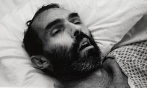 Peter Hujar, as photographed by the artist. David Wojnarowicz (1954-1992), Untitled, 1988.