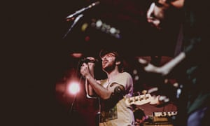 Foxing perform at The Green Door Store, Brighton