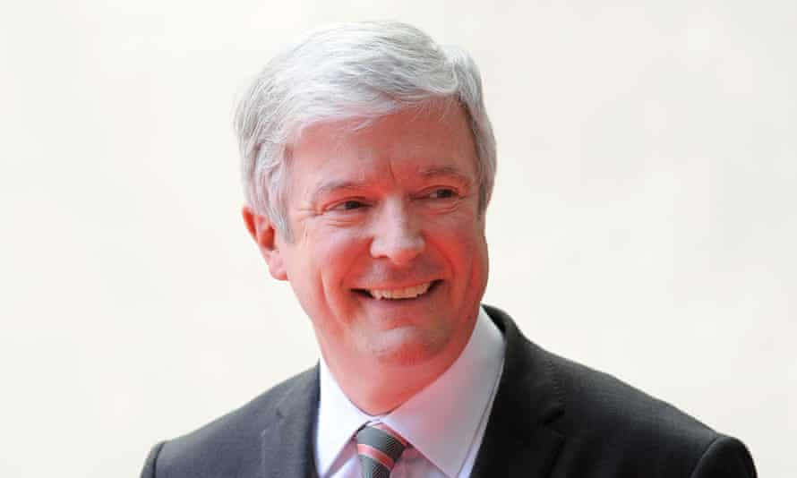 The outgoing BBC director general Tony Hall.