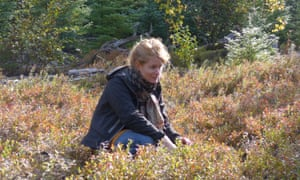Alys Fowler enjoys the wilderness.