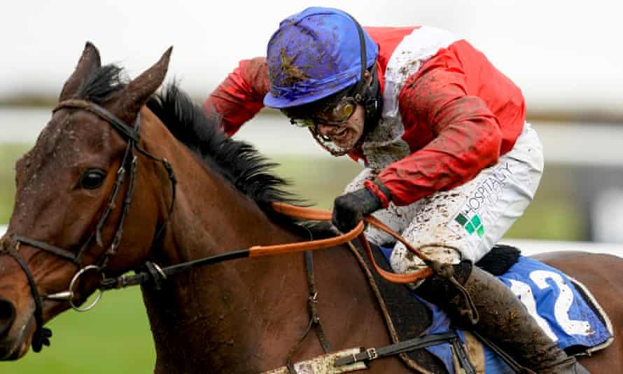 Jonjo O'Neill Jr rides Rose Of Arcadia to victory at Wincanton.