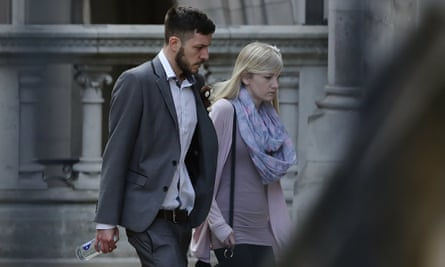 Charlie Gard's parents at the Royal Courts of Justice