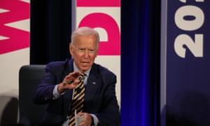 Joe Biden, the frontrunner, looks set be the primary target for his fellow debaters.