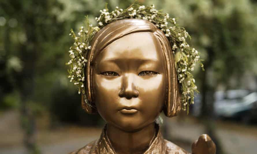 So-called 'comfort women' were women and girls enslaved for sex by the Japanese army during the second world war