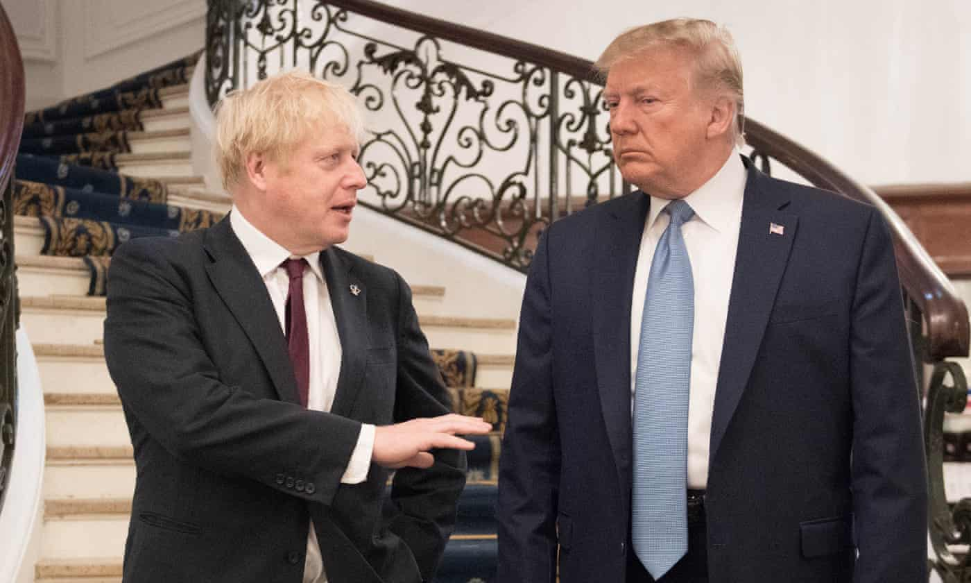 Trump says Boris Johnson is 'right man' to deliver Brexit