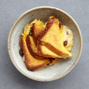 Creamy Bread And Butter Pudding