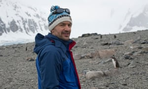 The Guardian's Matthew Taylor in the Antarctic.