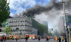 Auckland Fire Apec Venue In Doubt As Skycity Blaze Burns