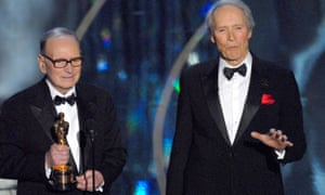 Despite never having been awarded an Oscar, Morricone received an Honorary Academy Award from Clint Eastwood at the 79th Annual Academy Awards in 2007 for his 'magnificent and multifaceted contributions to the art of film music'