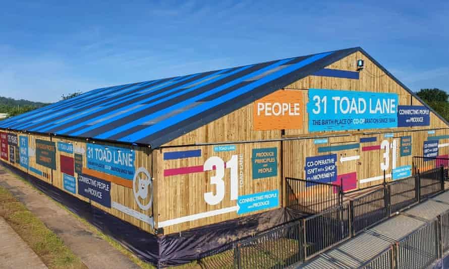 Glastonbury 2019 Co-op pop-up shop